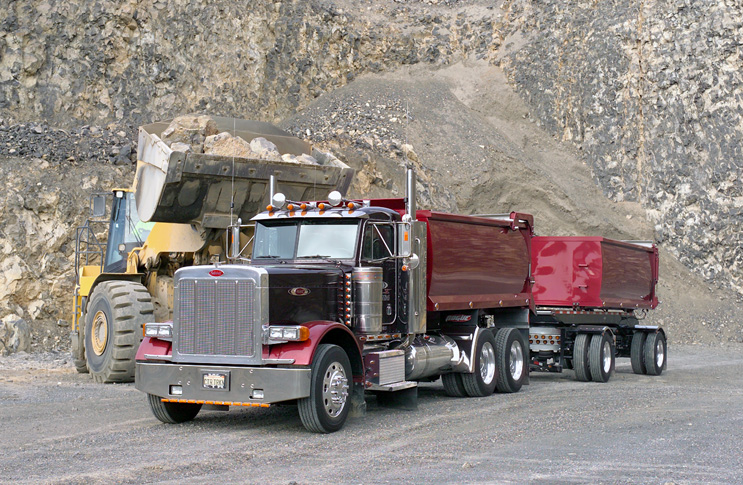 Dump truck & equipment financing for all credit types