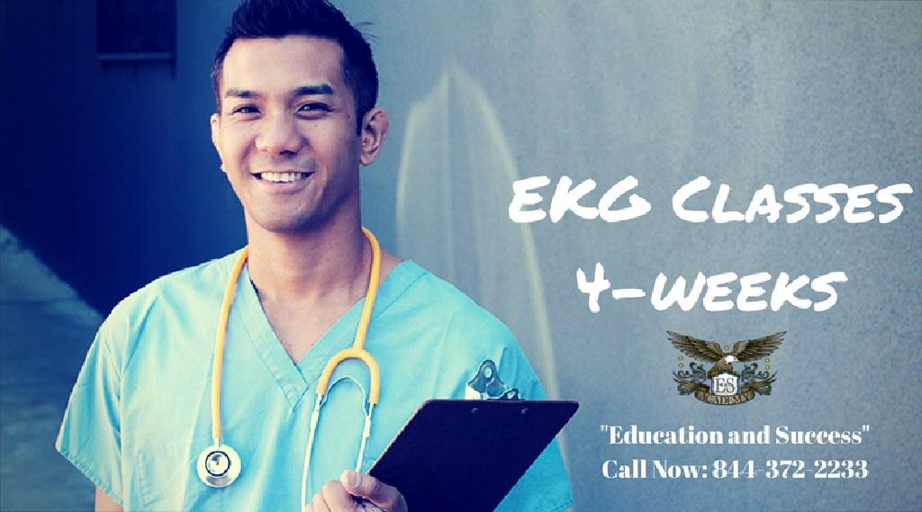 Pump up your career! Become a EKG Technician!