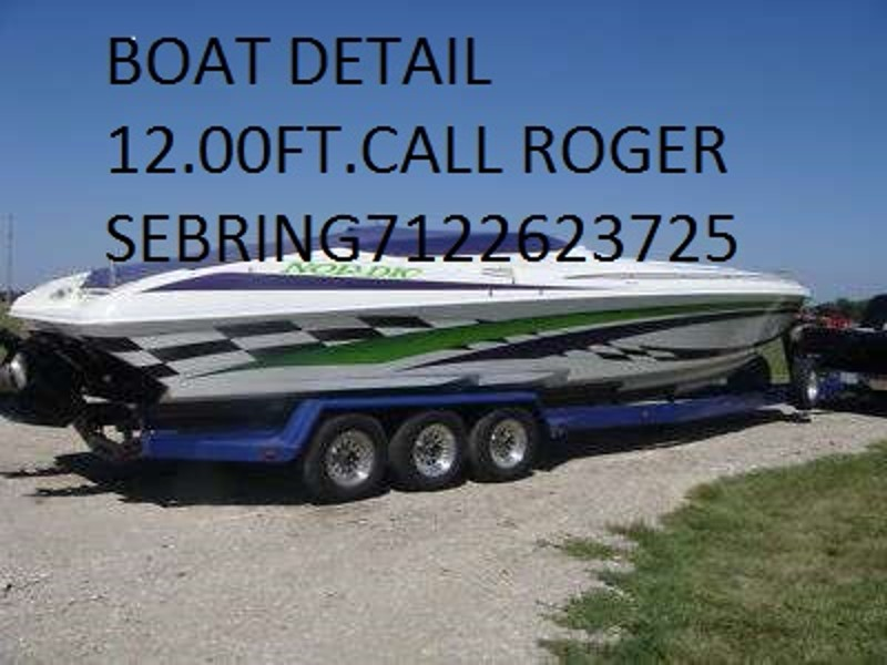 ROGER SEBRING'S AUTO DETAILING 712- 262-3725 BY APPOINTMENT