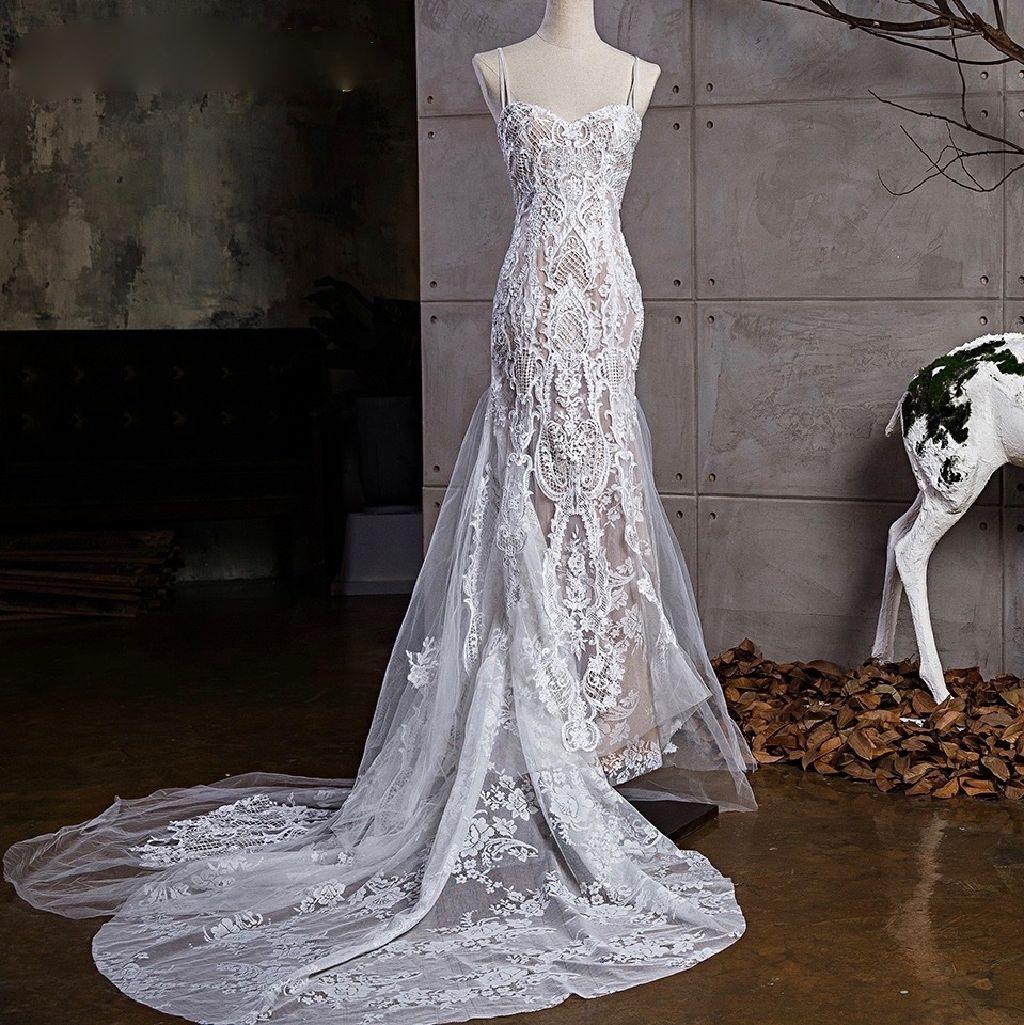 Tara's Sheath Lace Wedding Dress