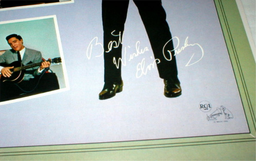 Elvis Presley Promotional Brochure - with Pin-Up - 1950's-60's