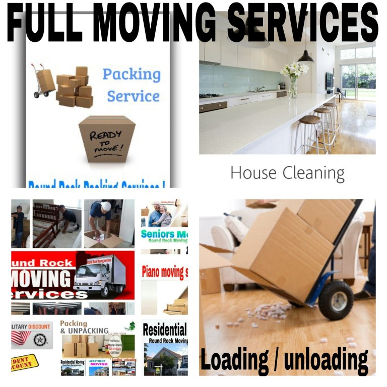 TWO EXPERIENCED MOVERS AND A TRUCK .