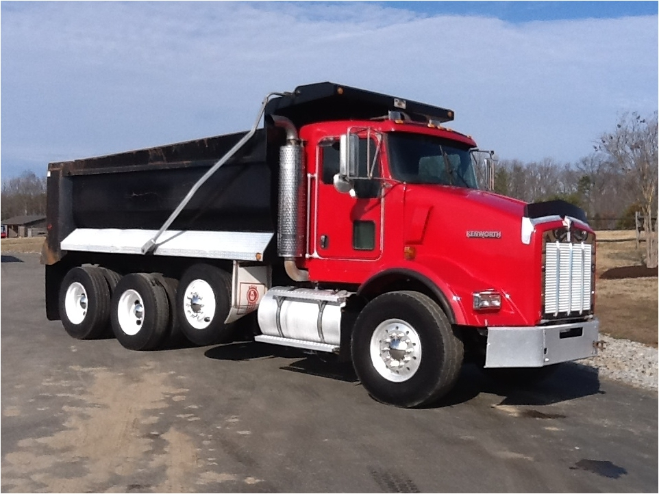 We can help you finance a dump truck - Bad credit OK