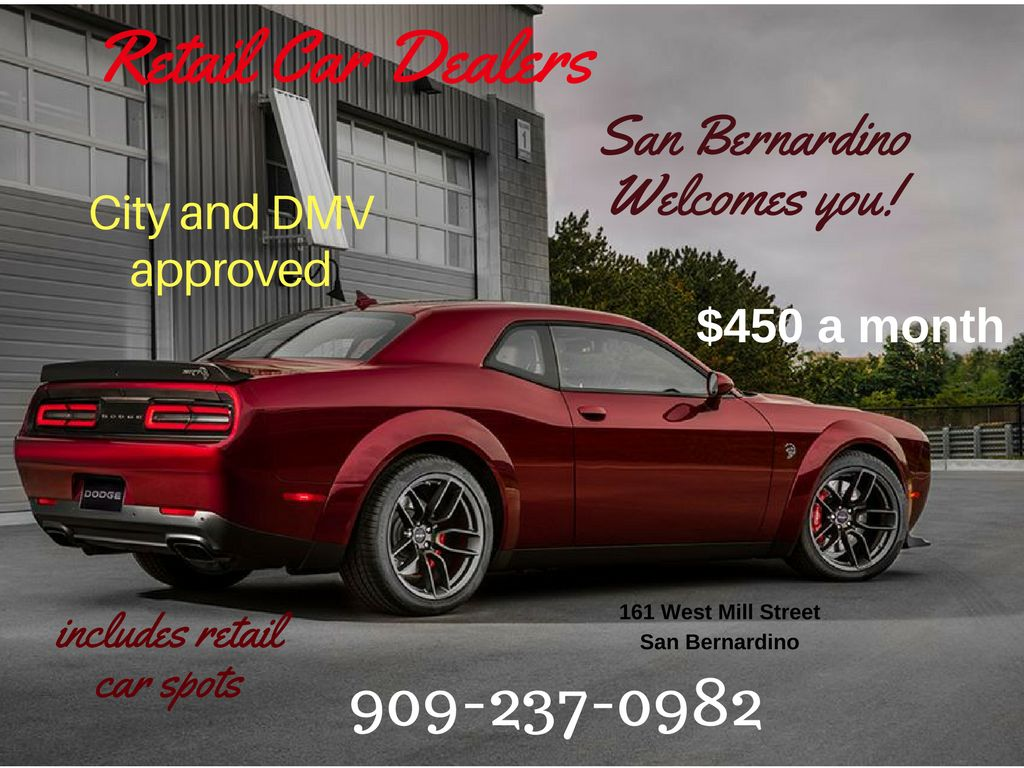 San Bernardino Retail Auto Deal Office Spaces avail