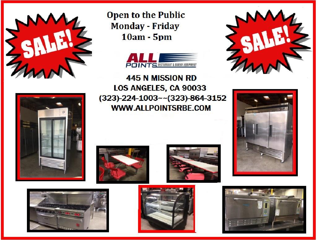 Visit Our Warehouse for all Restaurant Equipment-