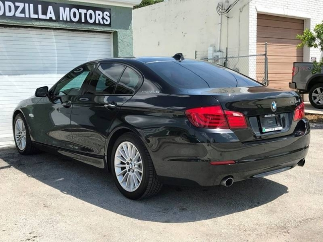 2012 BMW 5 Series ActiveHybrid 5 4dr Sedan