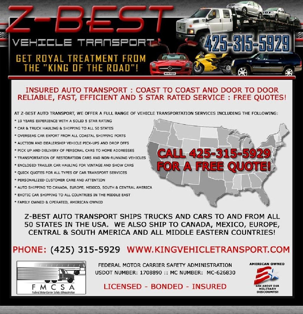 Call Mario No Broker auto transport Texas military discount top rated estimado gratis cotizacion