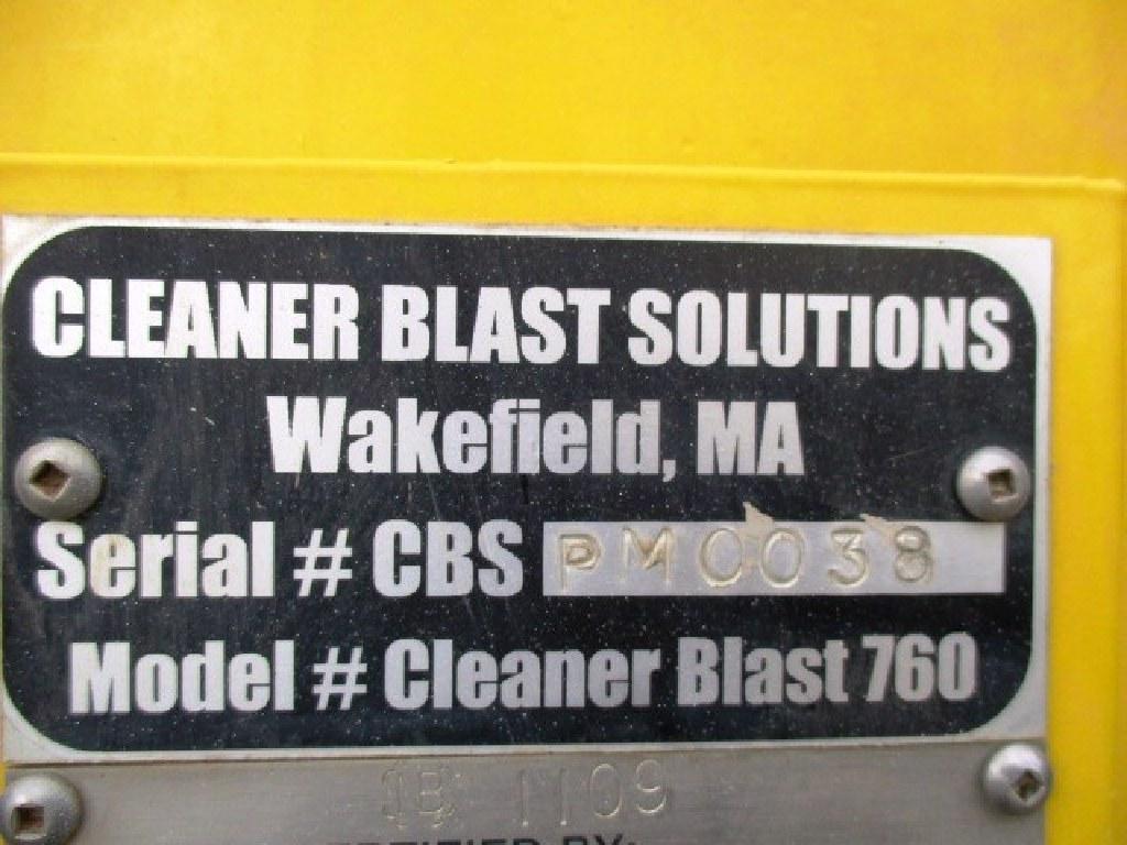 2012 Cleaner Blast 760P Wet Blast Machine RTR#7013420-01