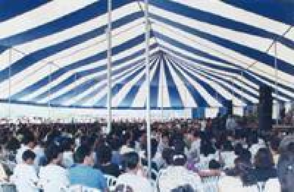 * SPRING TIME- LARGE POLE TENT & AIR DOME SALE! - FS! *
