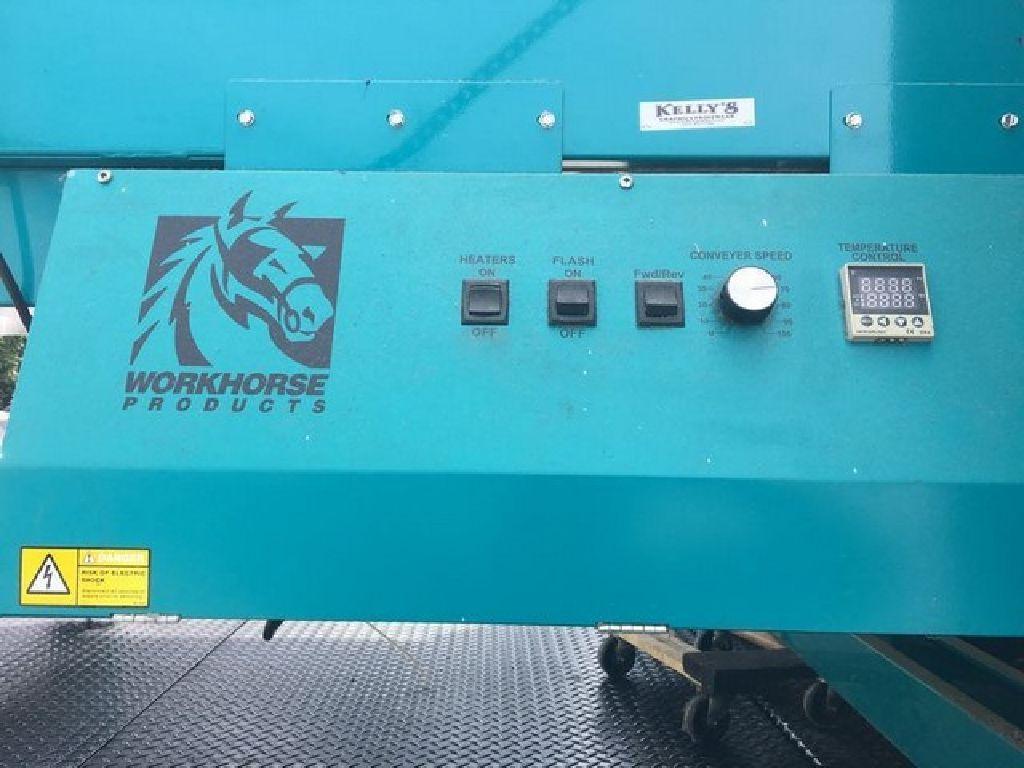 Workhorse Powerhouse Quartz 5217 Conveyor Dryer RTR#7083120-01