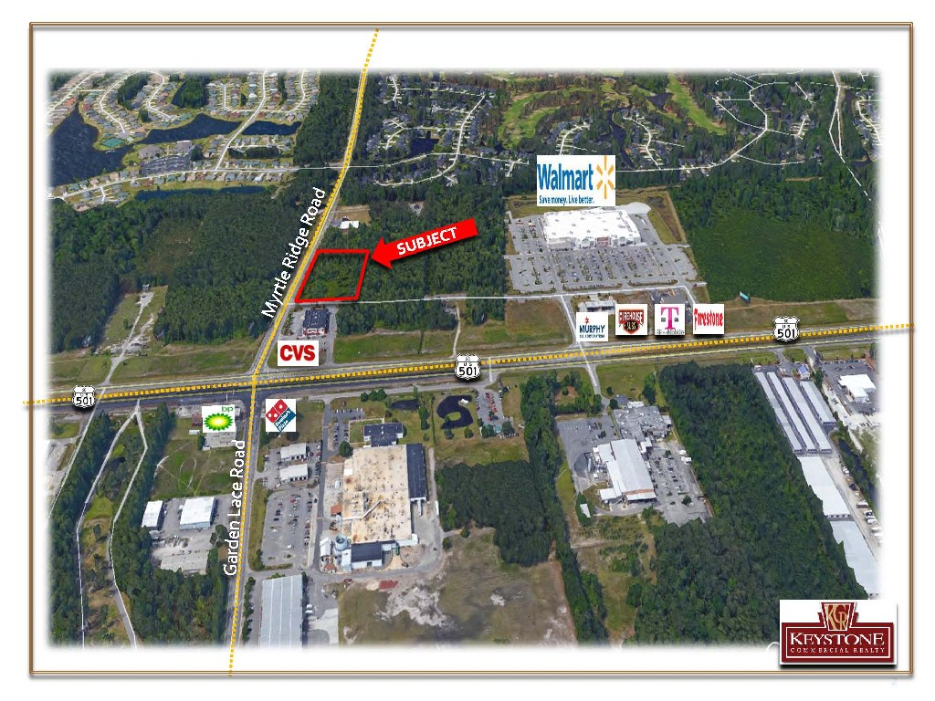 Worsley Tract-1.25 Acres For Sale-Myrtle Beach-Keystone Commercial Realty