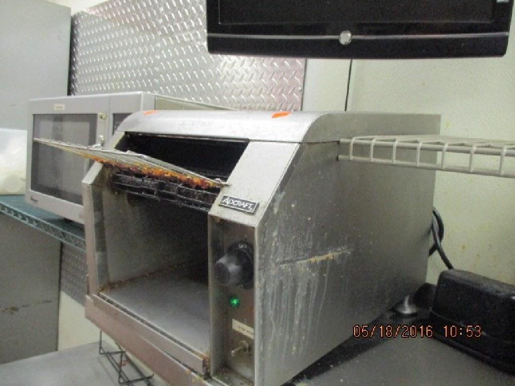 "10"" Wide Belt , Adjust. Speed Conveyor Toaster RTR#6053059-01, 02"