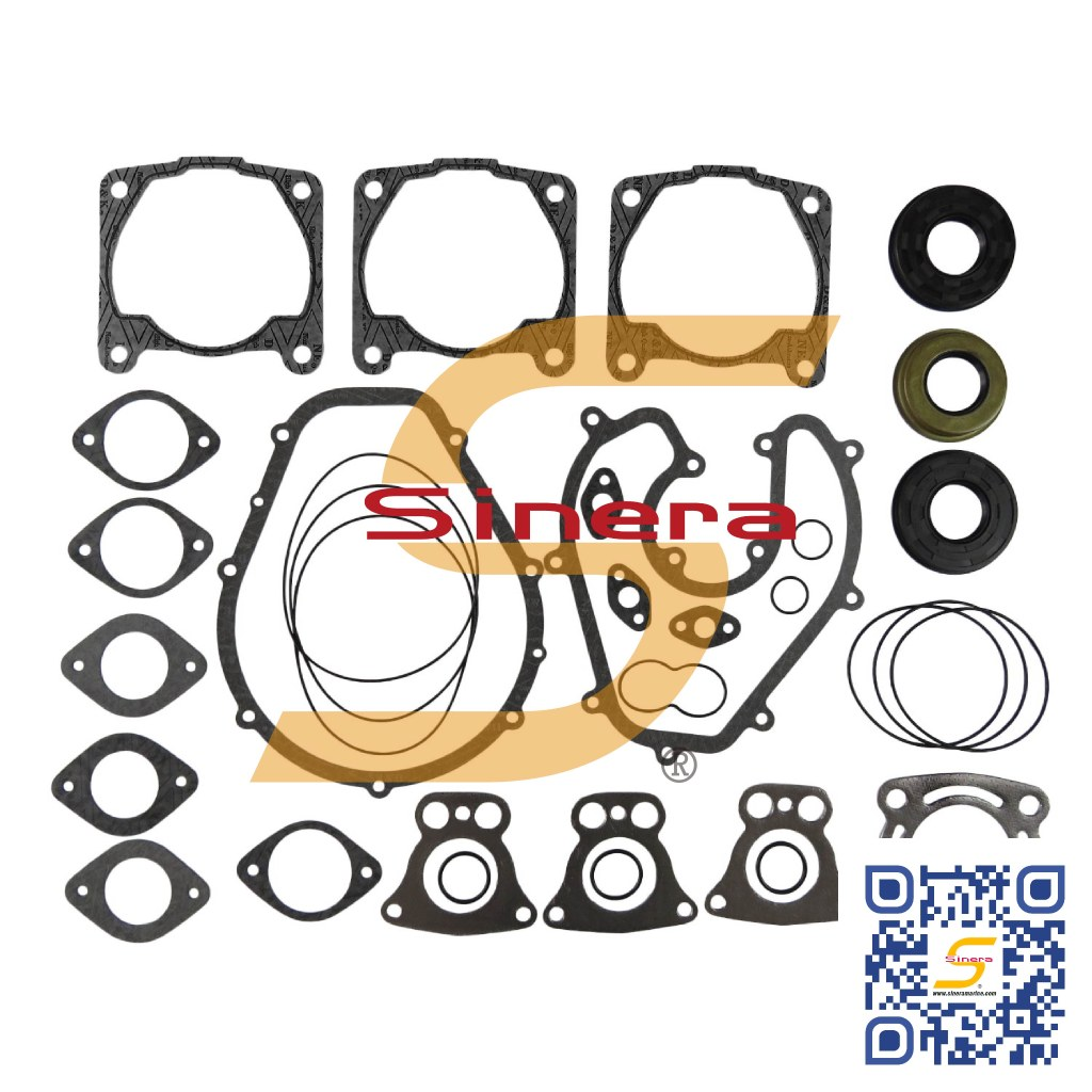 Polaris 1200 Jet Ski PWC Personal Watercraft Complete Gasket Kit , PWPO-1200E-FU (Winderosa 611809)