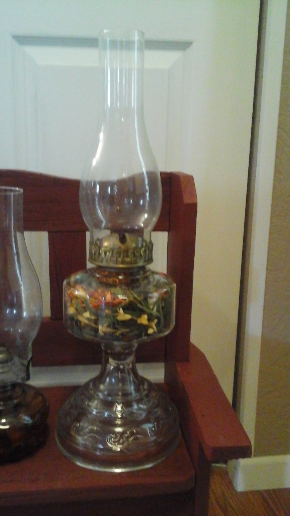 Vintage/Antique Oil Lamps