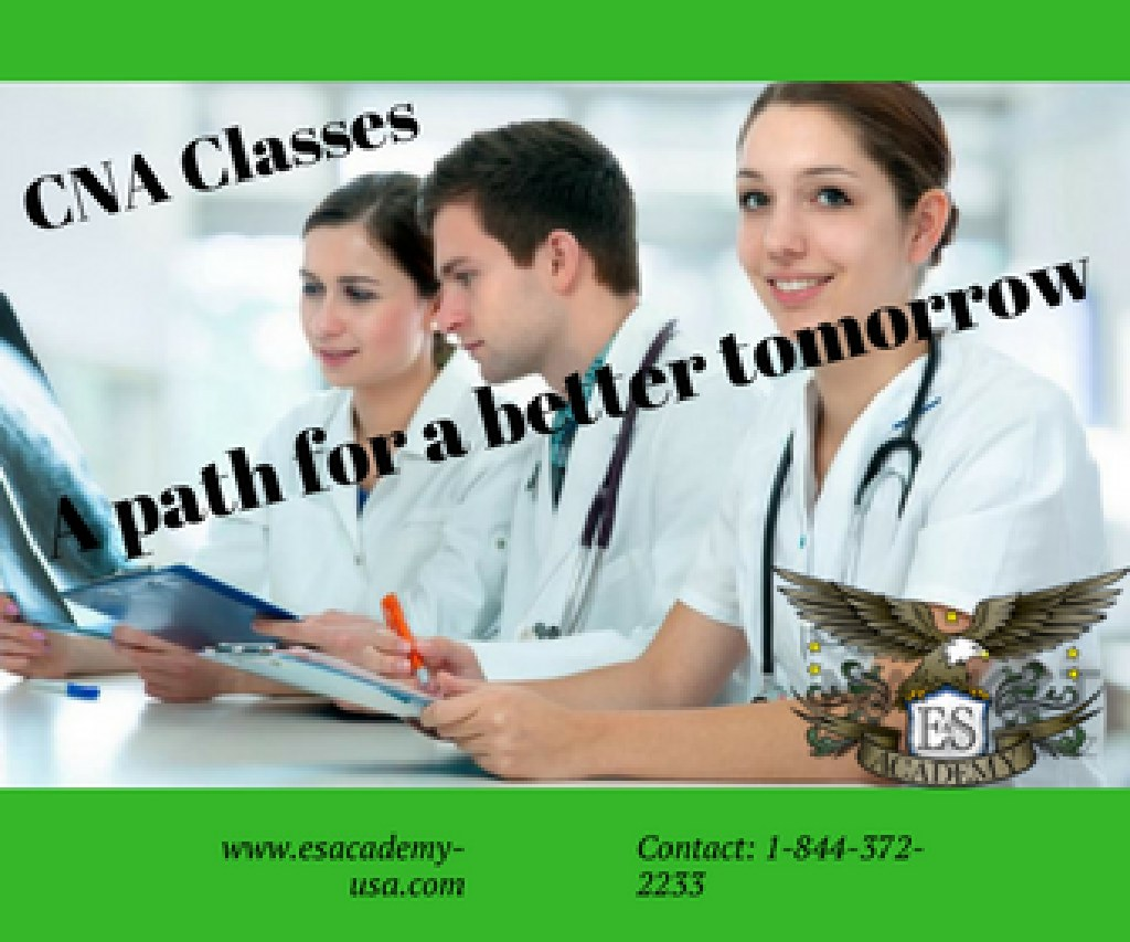 Flexible morning & evening CNA training classes.