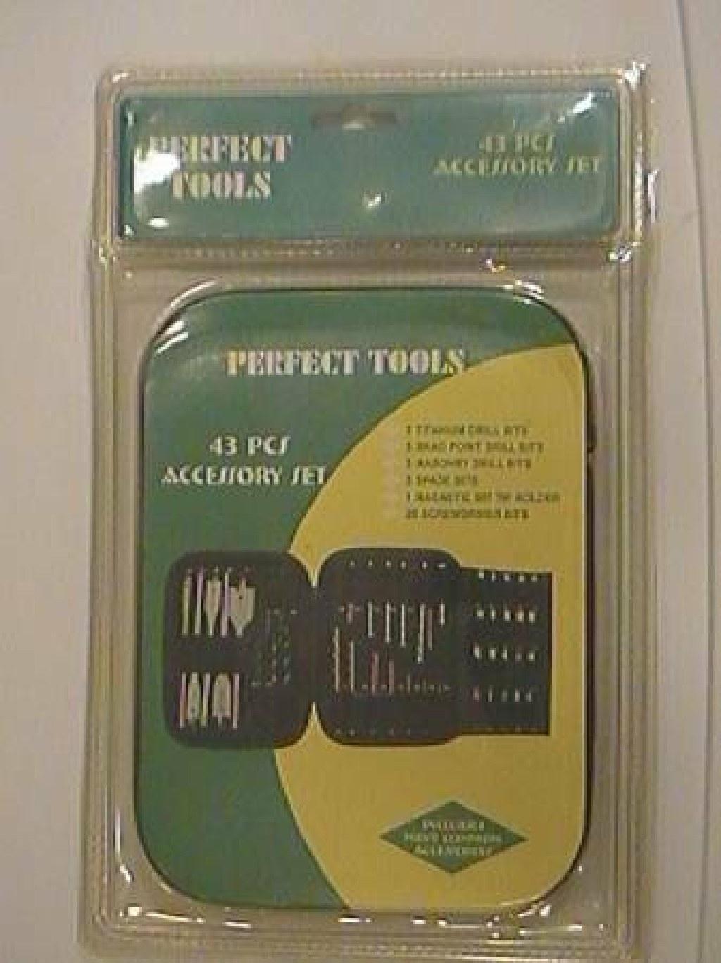 Drill Set 43 Pieces with Titanium drills