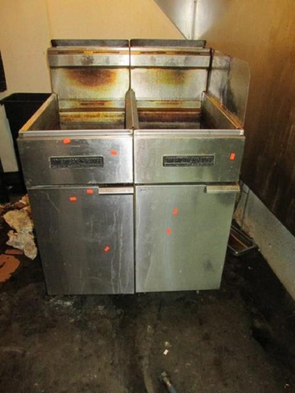 American Range 50lb Gas Fryer RTR# 7013457-04, 05