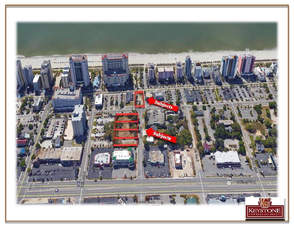 WT Assemblage-1.13 Acres-Ocean Views-Myrtle Beach