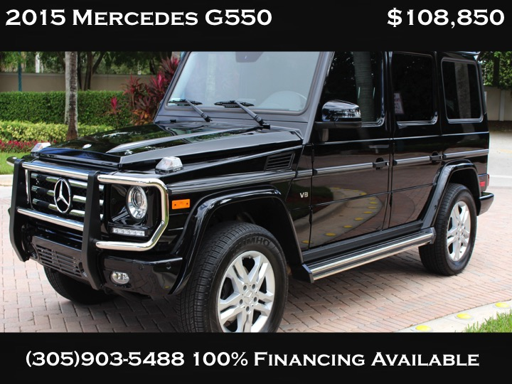 ** 2015 MERCEDES BENZ G550 MUST SEE IT **