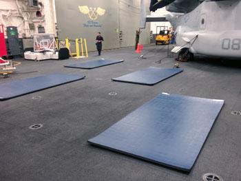 4x6 FlexFit Home Fitness Mat - NEW + FREE SHIPPING