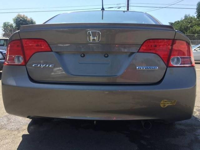 2006 Honda Civic Hybrid w/Navi 4dr Sedan