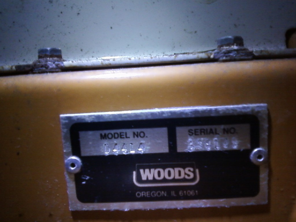 """NEW Woods / Grasshopper 50"""" Shaft Driven Front Mount Deck With Blower"""