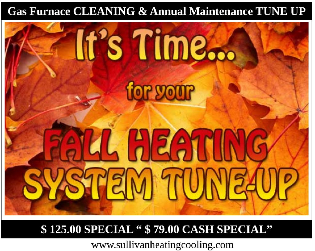 Affordable GAS Furnace Cleaning and Annual Tune Up --- SAVE$$$$ Oradell, NJ 07630, 07649