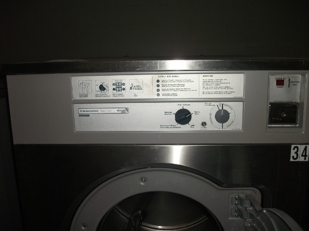 Wascomat W675 75 LB Washer/Extractor 3ph Used