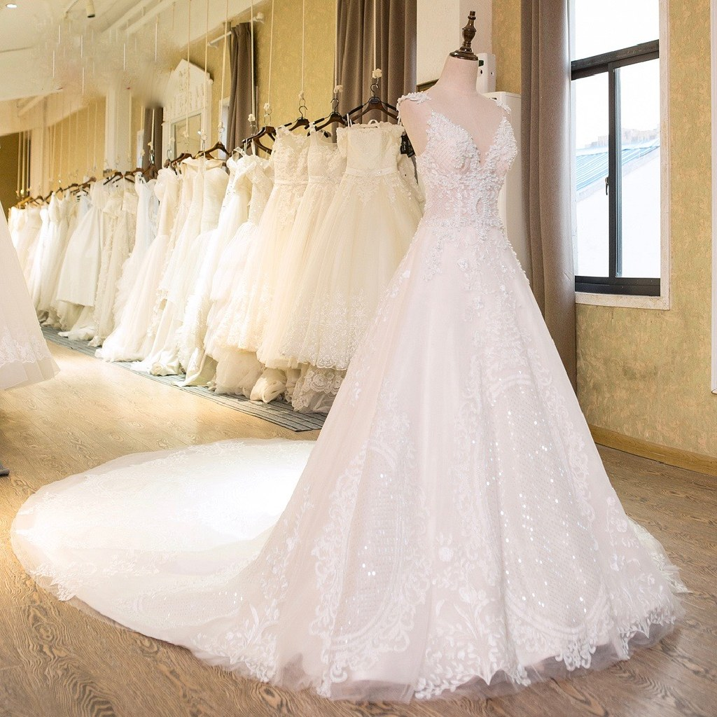 Renee's Lace A Line Wedding Dress