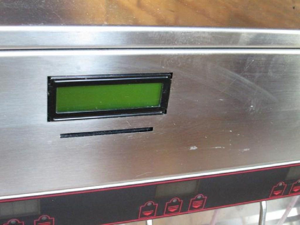 8 Bottle Refrigerated Wine Server W/Card Reader RTR#6083753-01