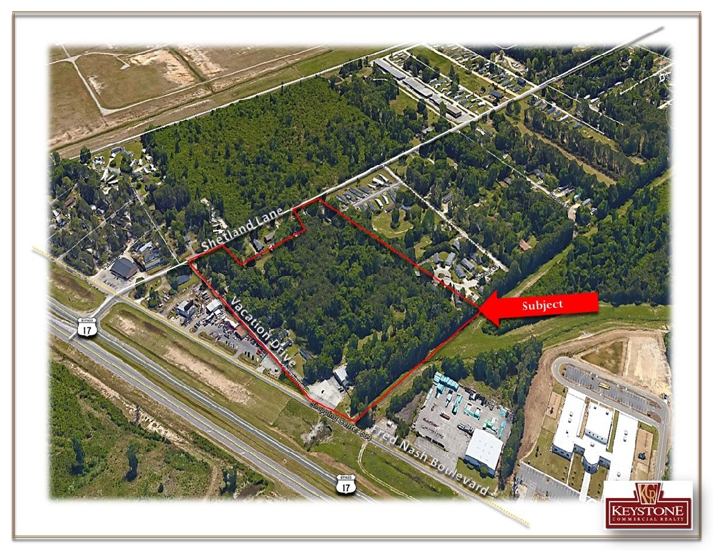 Airport Dev Tract-12.80 Acres-Land For Sale-Myrtle Beach-Keystone Commercial Realty