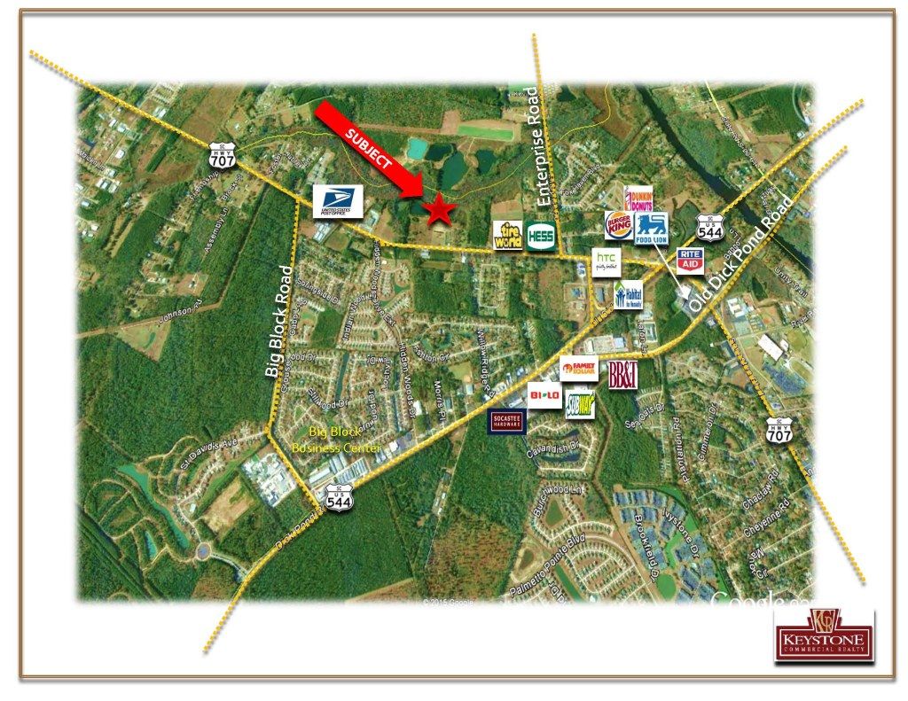 Barnhill Assemblage-Land for Sale-2 Houses for Sale-Keystone Commercial Realty