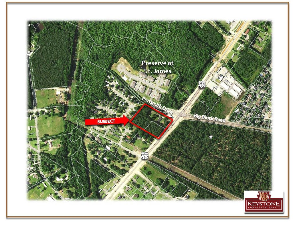 Highway 707 & Big Block Road Tract-4 Acres-For Sale