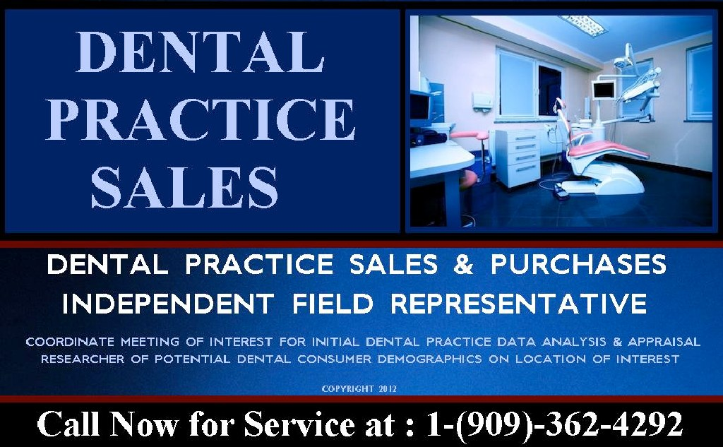 Dental Practice Sales Assessment for as little as 195.00 Per Report