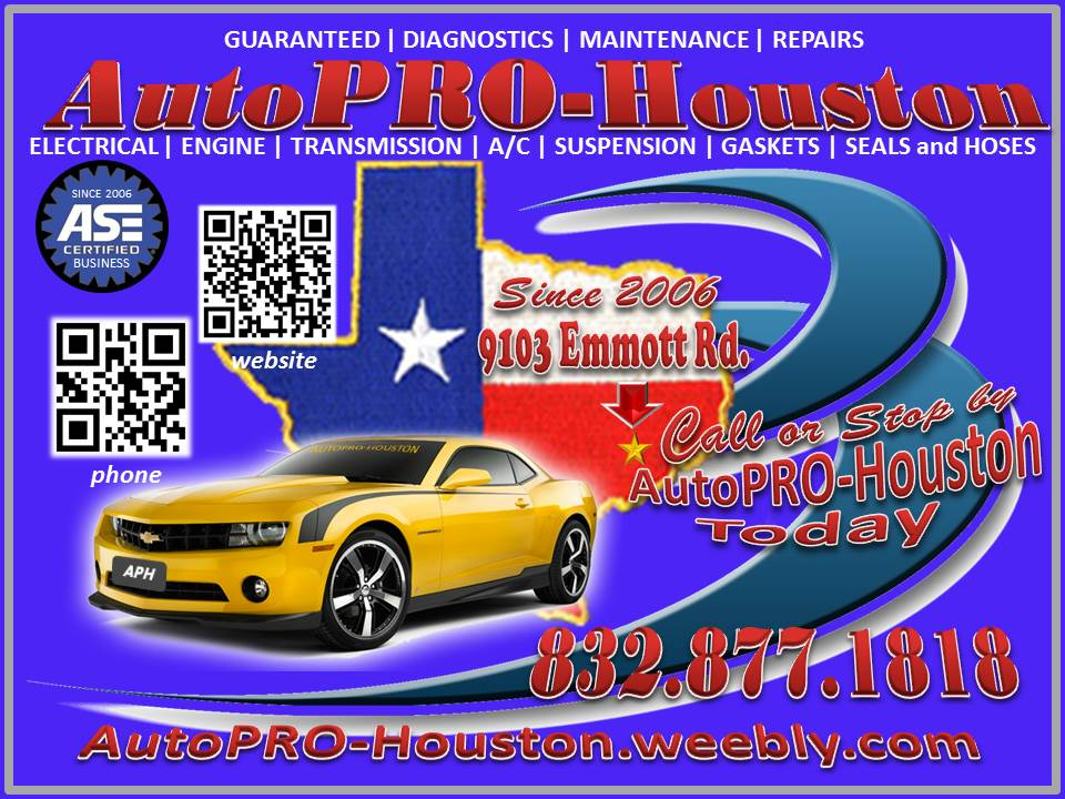 A/C | Engine | Transmission | Electrical | Suspension | Diagnostics and Repair | - -