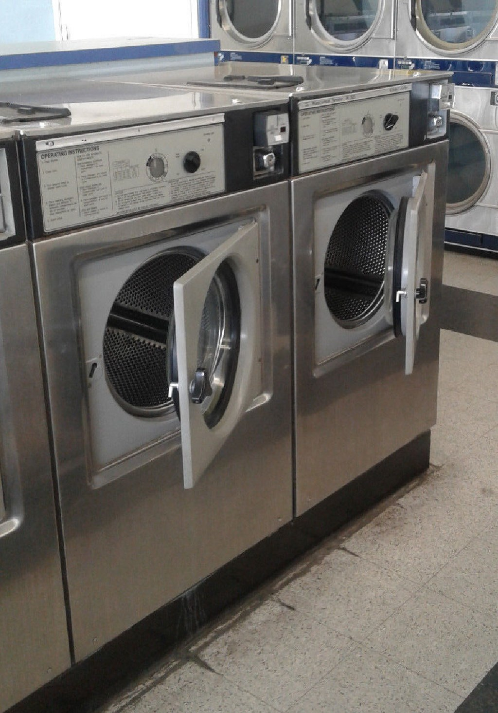 Coin Operated Wascomat Front Load Washer W125 3PH Stainless Steel
