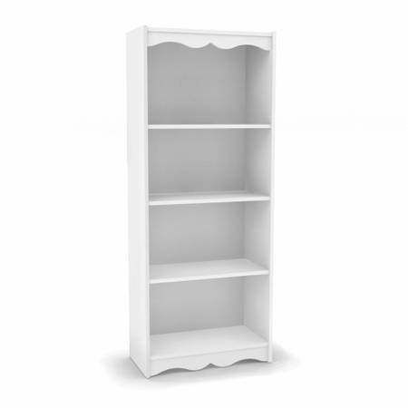 Bookcase- Frost White