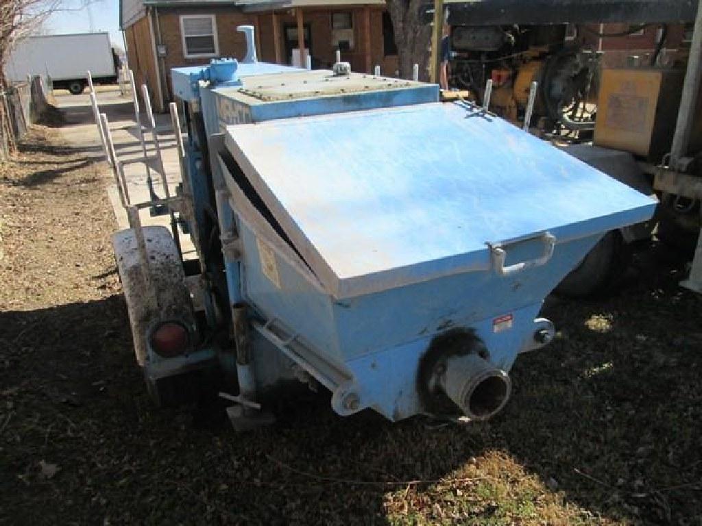 Mayco HR-40 Towable Concrete Pump RTR#7023262-01