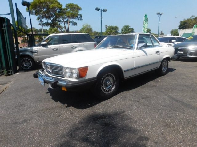 1984 Mercedes-Benz 380 Series 380SL
