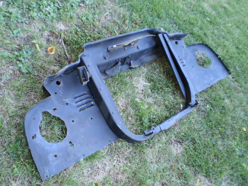 53 54 55 56 FORD PICKUP TRUCK RADIATOR CORE SUPPORT 1953 1954 1955 1956 OEM RARE