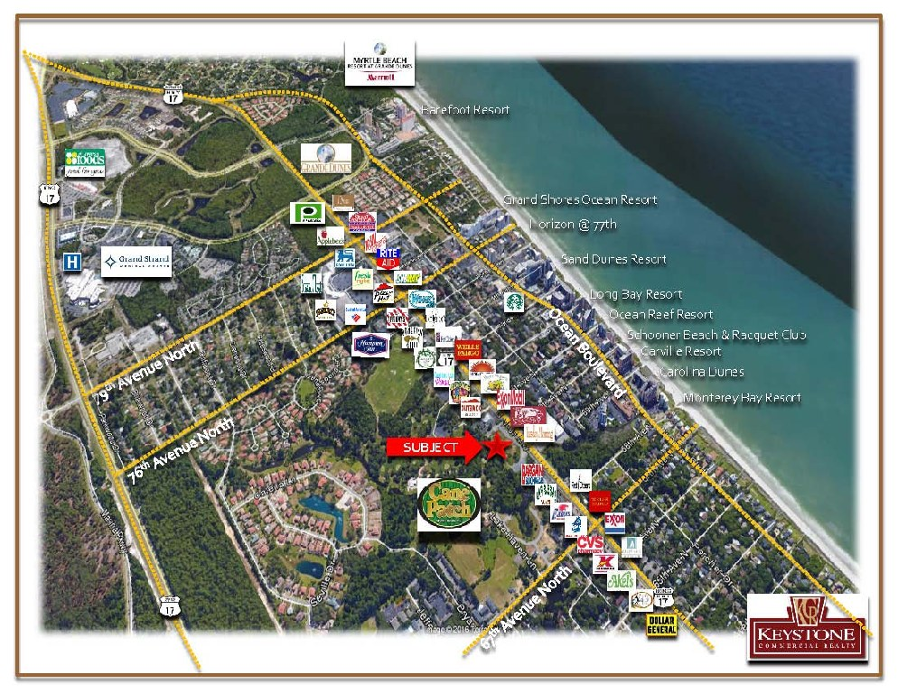 Cane Patch-4.62 Acres-Land for Sale-Myrtle Beach-Keystone Commercial Realty