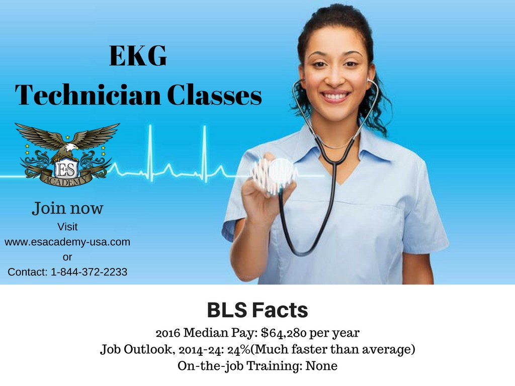 A step closer to your future- Join EKG technicians training classes.