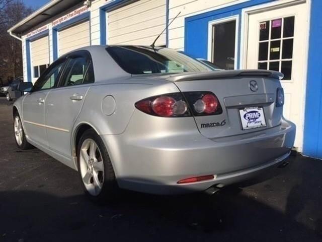 2007 Mazda Mazda6 i Grand Touring 4dr Sedan (2.3L I4 5A)