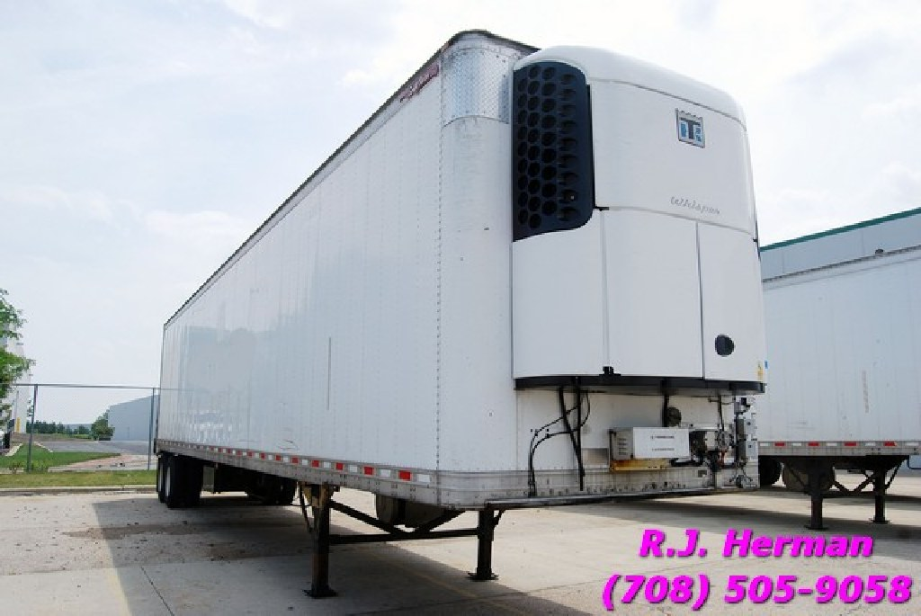 2010 48ft X 102in Great Dane Refrigerated Trailers (16) Available