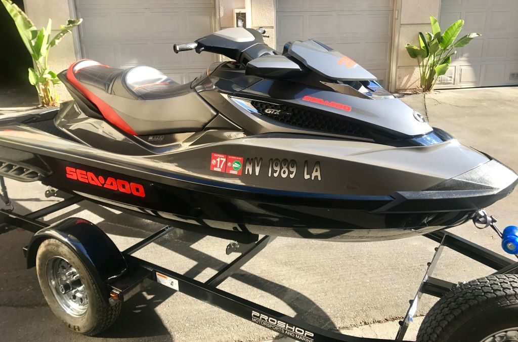 2014 Sea Doo Jet Ski GTX Limited Only 47 Hours With Trailer