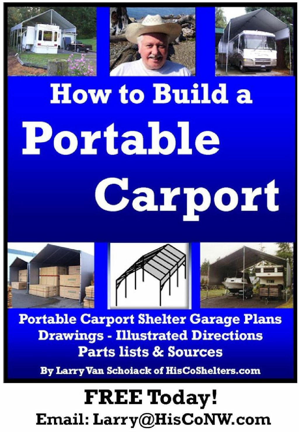 Build-Your-Own Portable Carport (EBook)