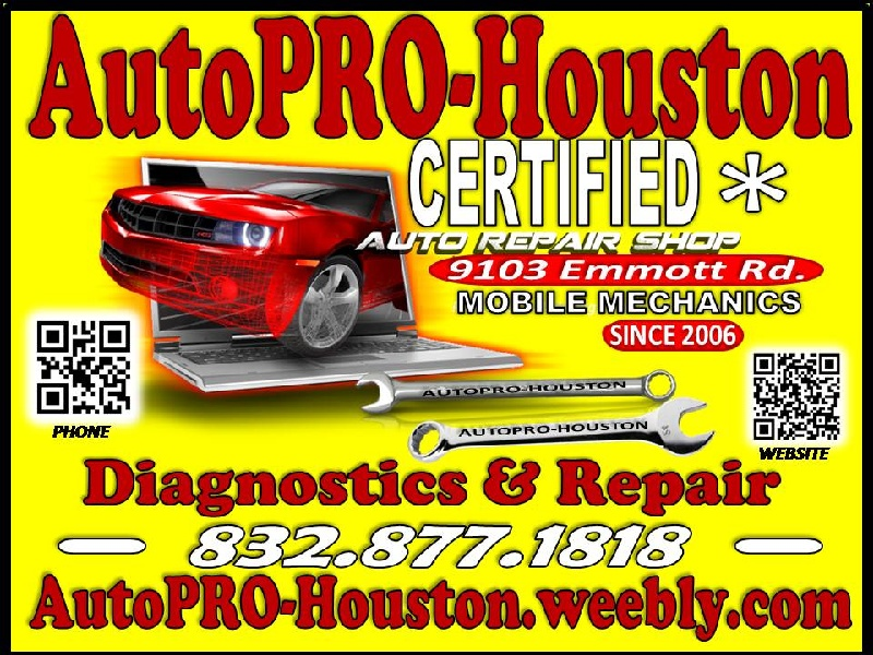 Engine Transmission Electrical Suspension A/C Repairs Houston Harris County TX