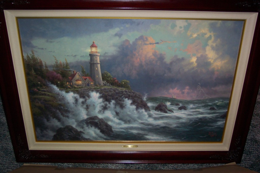 Thomas Kinkade Conquering the Storms