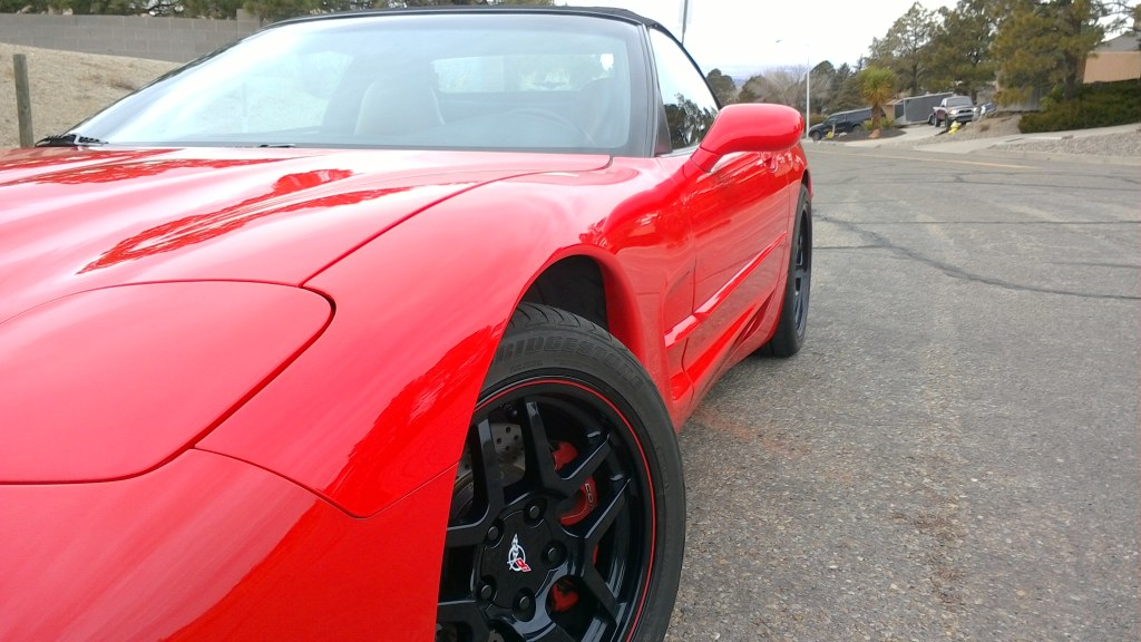 1998 Corvette Convertible (supercharged)