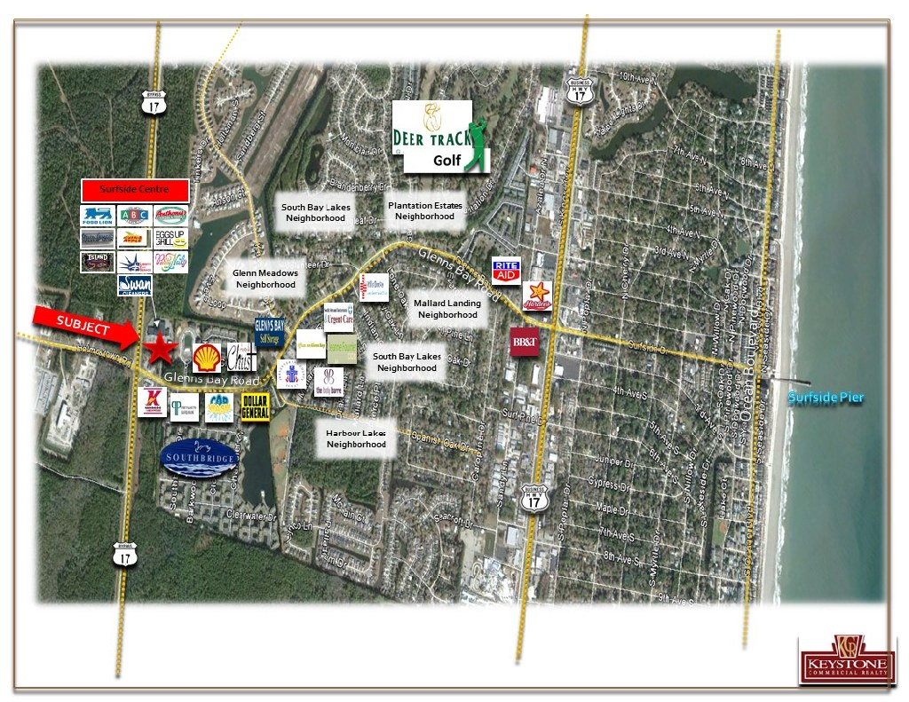Surfside Center-FREE RENT! Unit 2274-Retail Space for Lease-Myrtle Beach-Keystone Commercial Realty